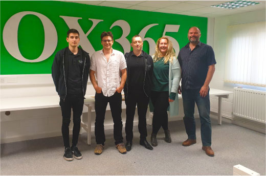 The OXPC Team In Office
