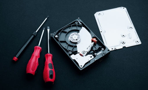 Data recovery and hard drive tools